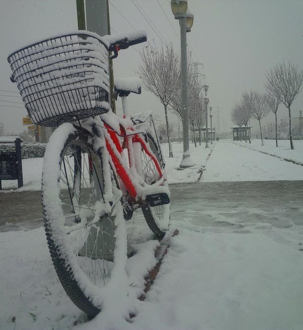 Konya'dan kar manzaraları 5