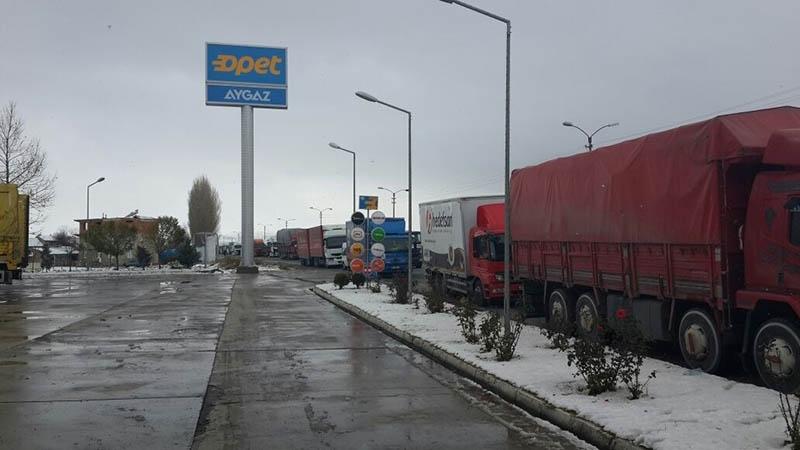 Konya'dan kar manzaraları 52