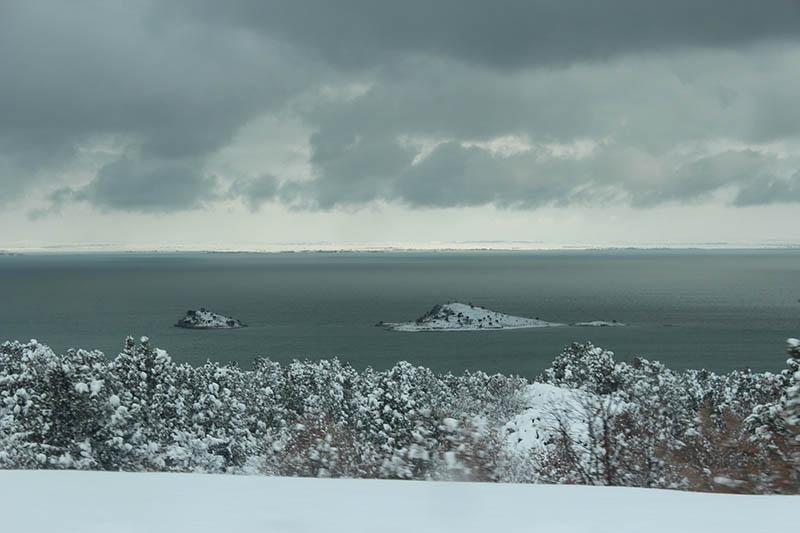 Konya'dan kar manzaraları 61