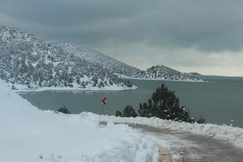 Konya'dan kar manzaraları 62