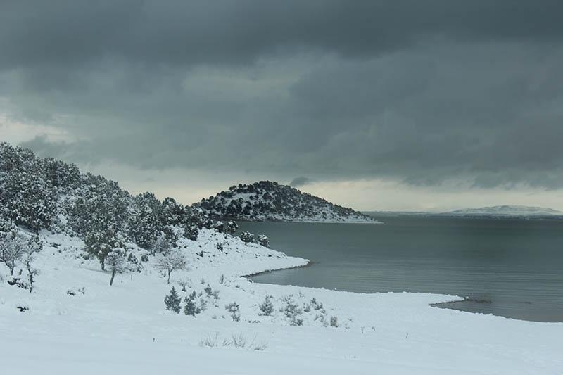 Konya'dan kar manzaraları 63