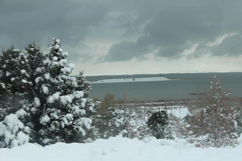Konya'dan kar manzaraları 64