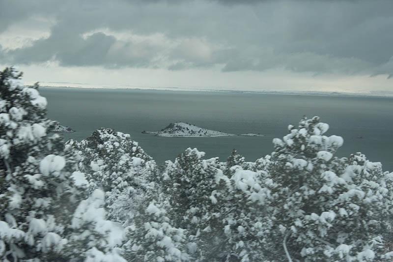 Konya'dan kar manzaraları 65
