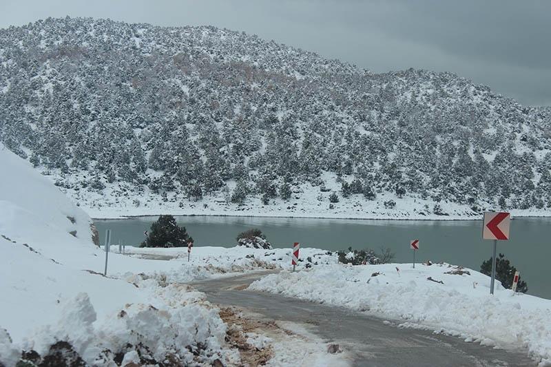Konya'dan kar manzaraları 66