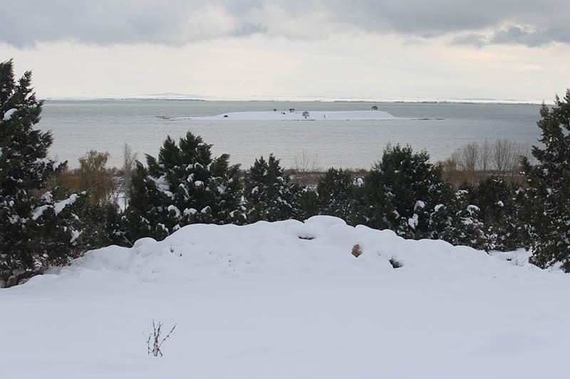 Konya'dan kar manzaraları 70