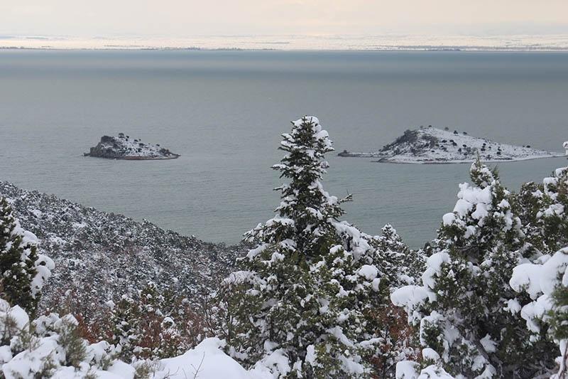 Konya'dan kar manzaraları 74