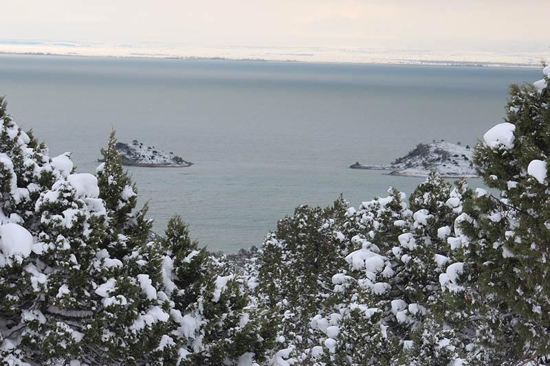 Konya'dan kar manzaraları 76