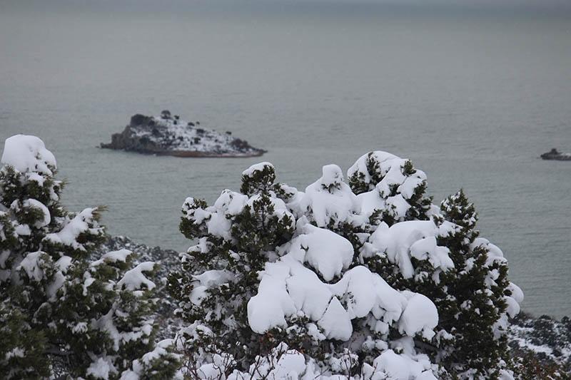Konya'dan kar manzaraları 77