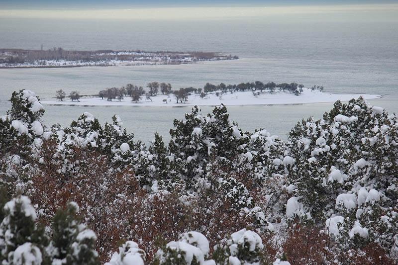 Konya'dan kar manzaraları 78