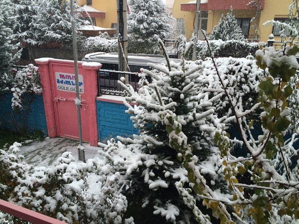 Konya'dan kar manzaraları 8
