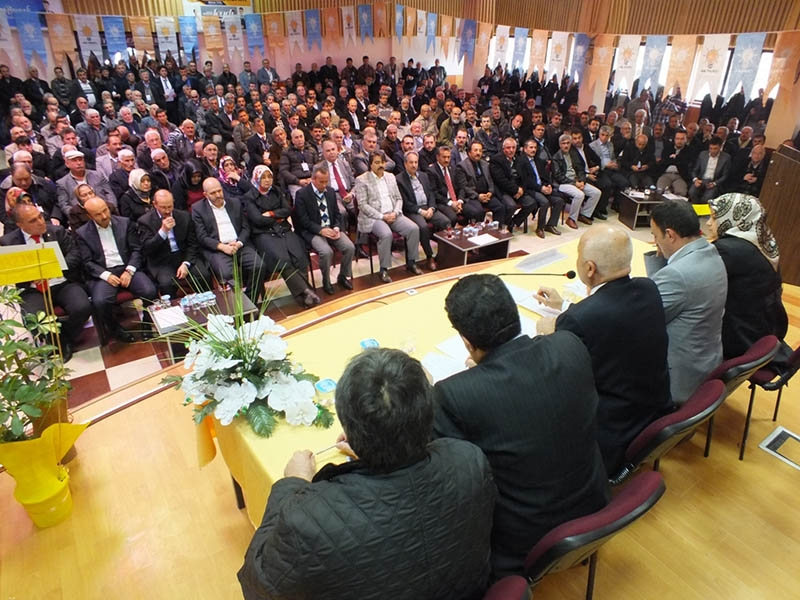 AK Parti ilçe kongrelerinden fotoğraflar 22