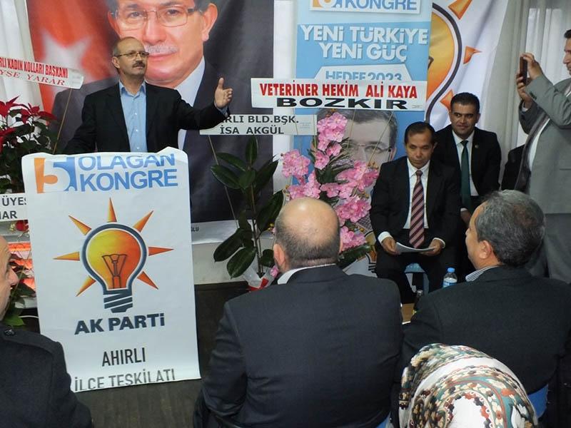 AK Parti ilçe kongrelerinden fotoğraflar 37