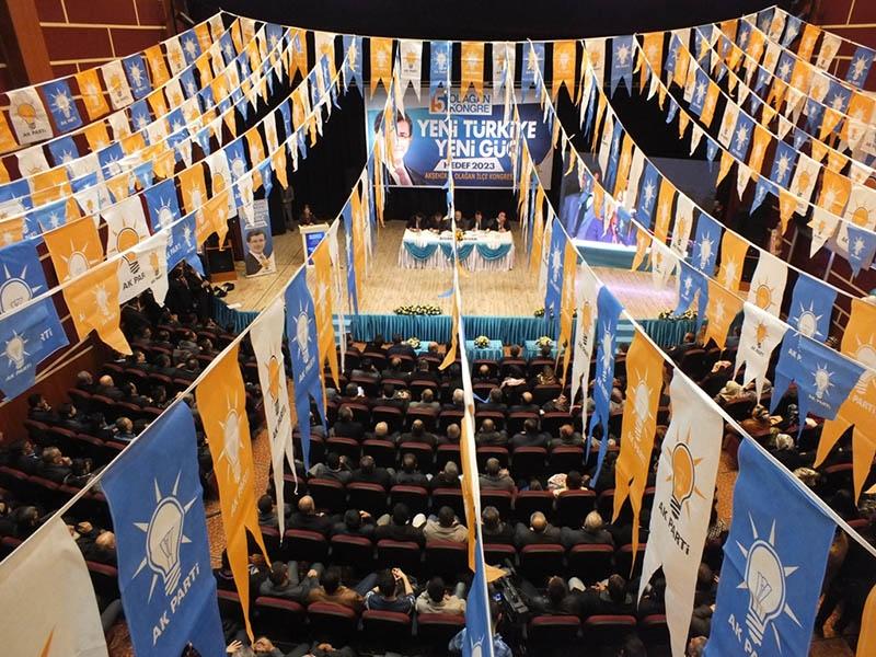 AK Parti ilçe kongrelerinden fotoğraflar 38