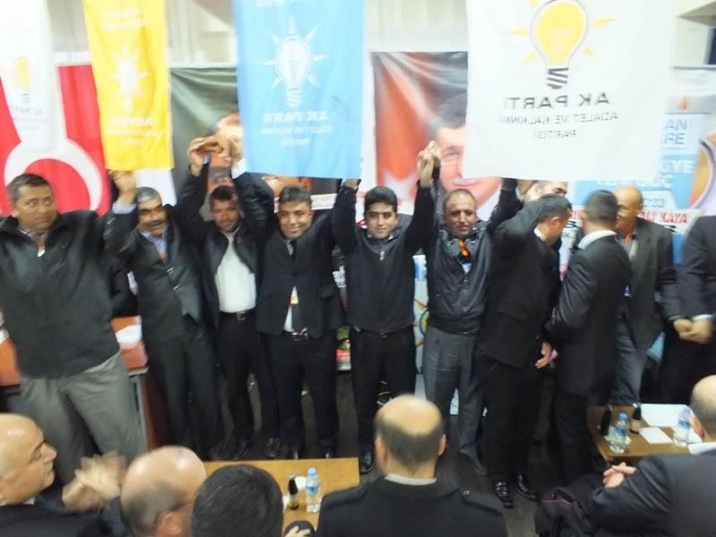 AK Parti ilçe kongrelerinden fotoğraflar 39