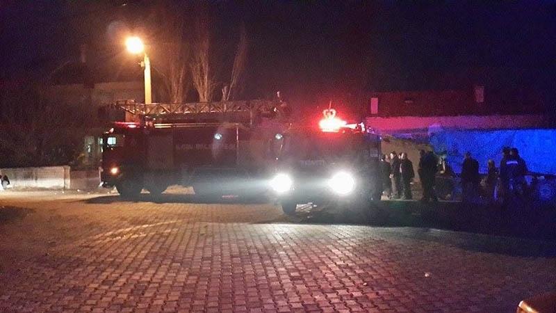Konya'da yangın 7