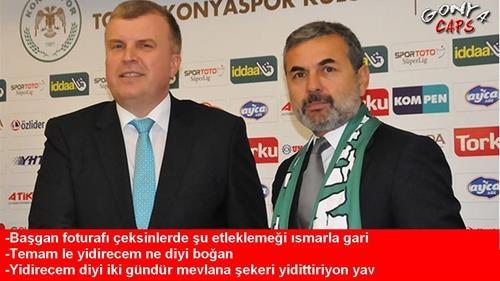Sadece Konyalıların Anlayabileceği Futbol Capsleri 1