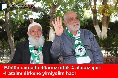 Sadece Konyalıların Anlayabileceği Futbol Capsleri 2