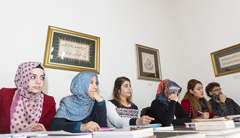"""Selçuklu Medresesi'nde """"Osmanlıca"""" öğreniyorlar 24"""