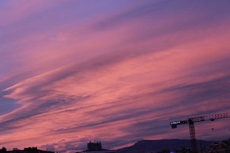 Konya'dan enfes akşam manzaraları (28.12.2014) 12