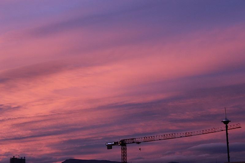 Konya'dan enfes akşam manzaraları (28.12.2014) 14
