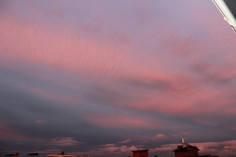 Konya'dan enfes akşam manzaraları (28.12.2014) 16