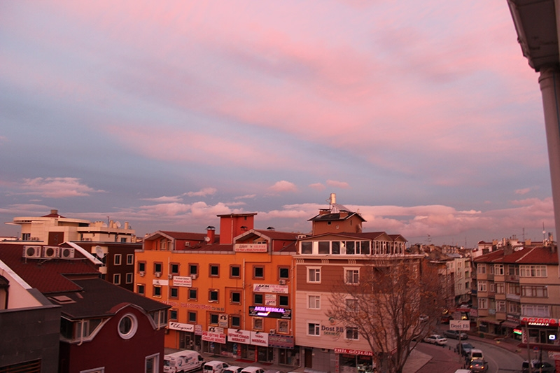 Konya'dan enfes akşam manzaraları (28.12.2014) 17