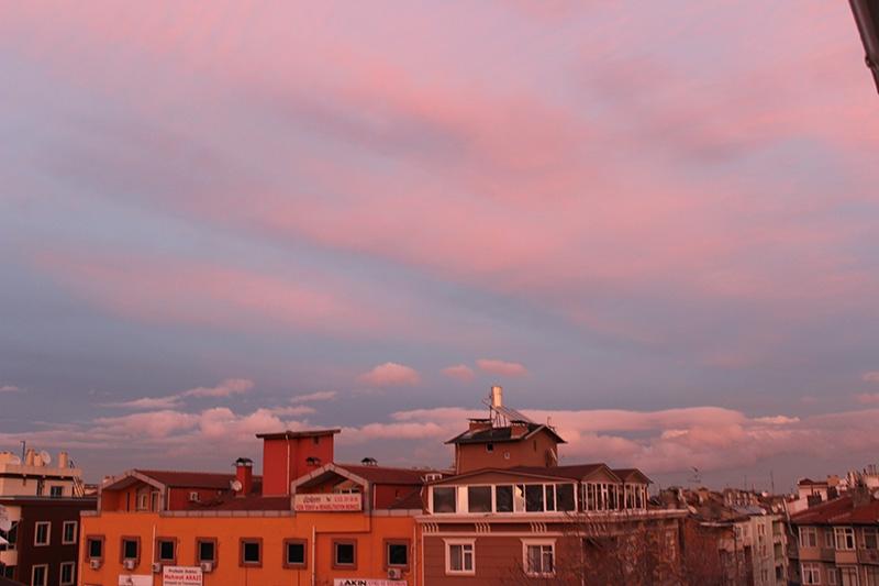 Konya'dan enfes akşam manzaraları (28.12.2014) 19