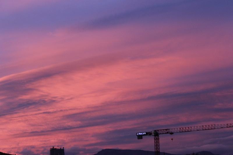Konya'dan enfes akşam manzaraları (28.12.2014) 22