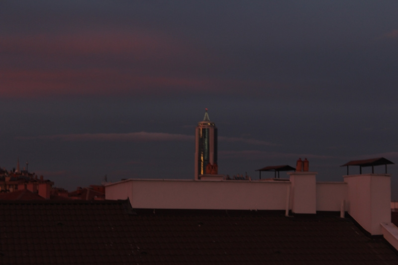 Konya'dan enfes akşam manzaraları (28.12.2014) 24