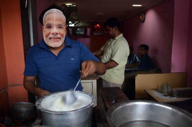 Hindistan'daki seçimlerden renkli kareler 13