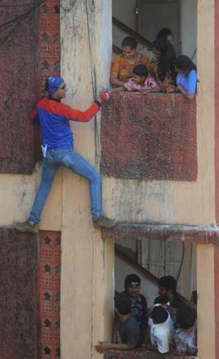 Hindistan'daki seçimlerden renkli kareler 4