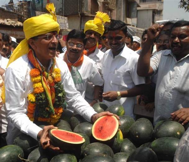 Hindistan'daki seçimlerden renkli kareler 6