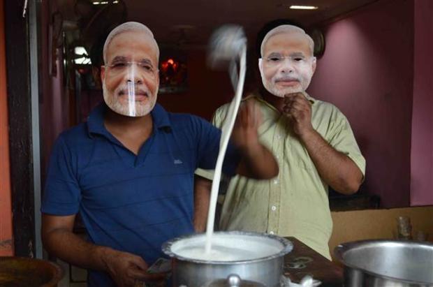 Hindistan'daki seçimlerden renkli kareler 8