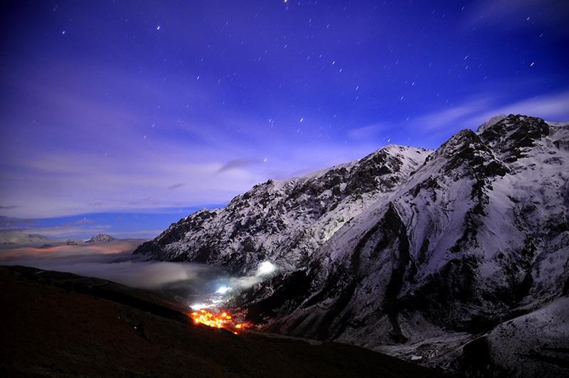 Bolkarların büyüleyici kış manzaraları 1