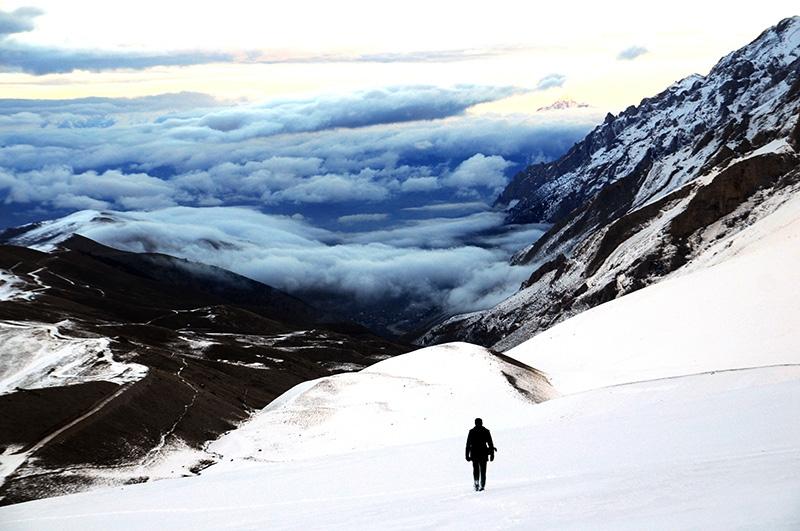 Bolkarların büyüleyici kış manzaraları 2