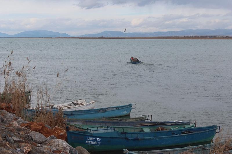 Yağışlar Beyşehir gölüne yaradı 10