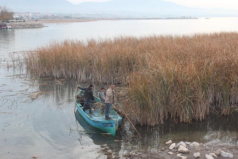Yağışlar Beyşehir gölüne yaradı 3