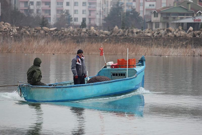 Yağışlar Beyşehir gölüne yaradı 5