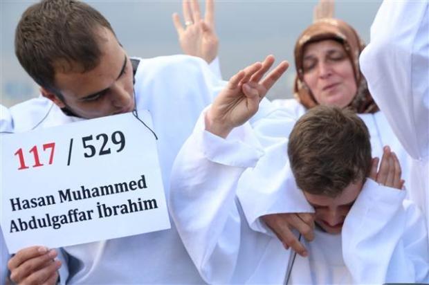 Üsküdar'da Mısır'daki idam cezası kararlarına protesto 13