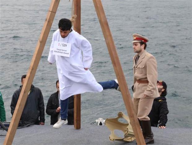 Üsküdar'da Mısır'daki idam cezası kararlarına protesto 19