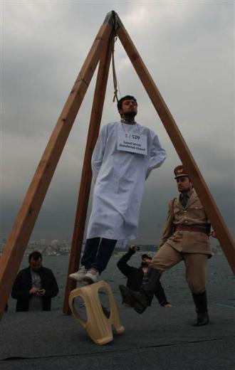 Üsküdar'da Mısır'daki idam cezası kararlarına protesto 5