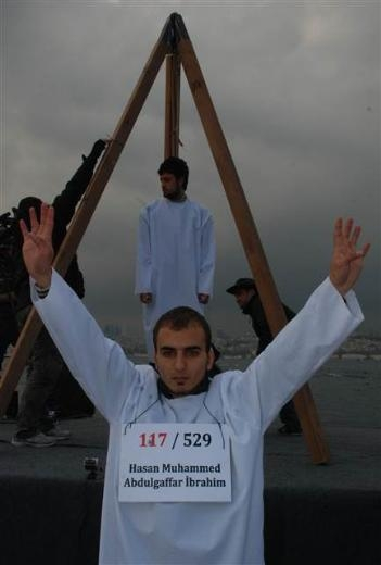 Üsküdar'da Mısır'daki idam cezası kararlarına protesto 6