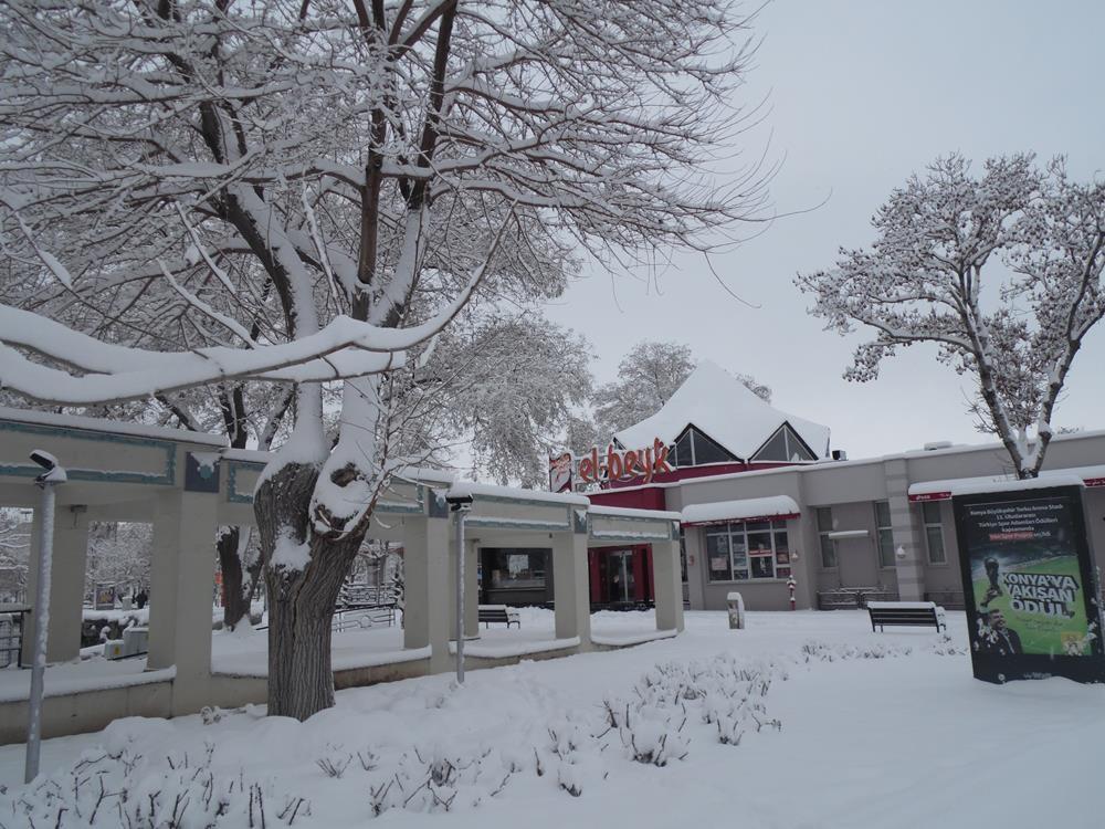 Konya'dan Kar Manzaraları 31