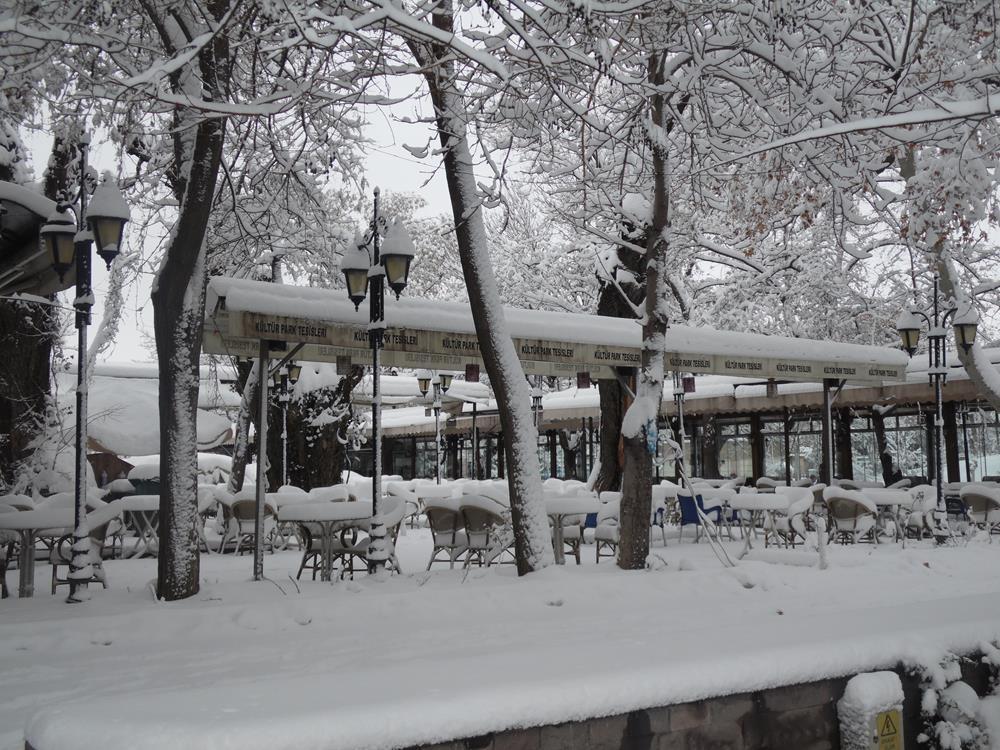 Konya'dan Kar Manzaraları 37