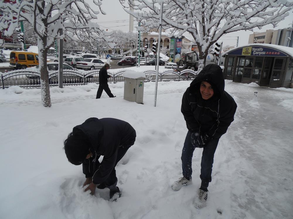 Konya'dan Kar Manzaraları 59