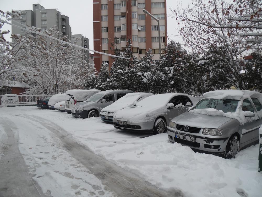 Konya'dan Kar Manzaraları 60