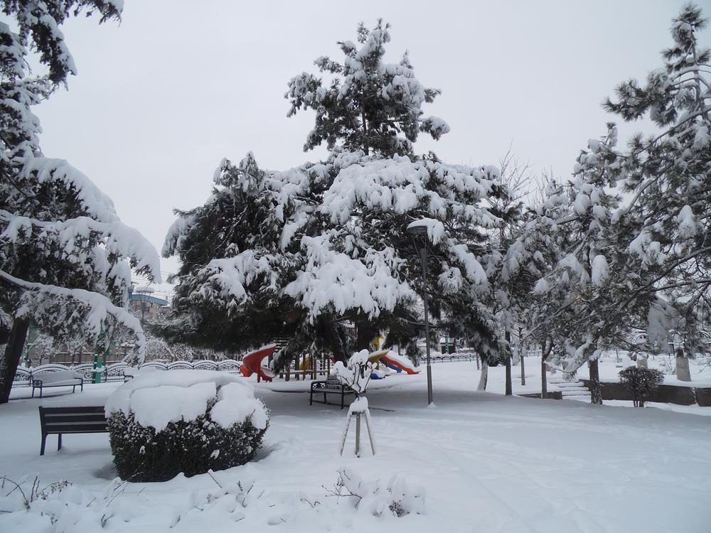 Konya'dan Kar Manzaraları 9