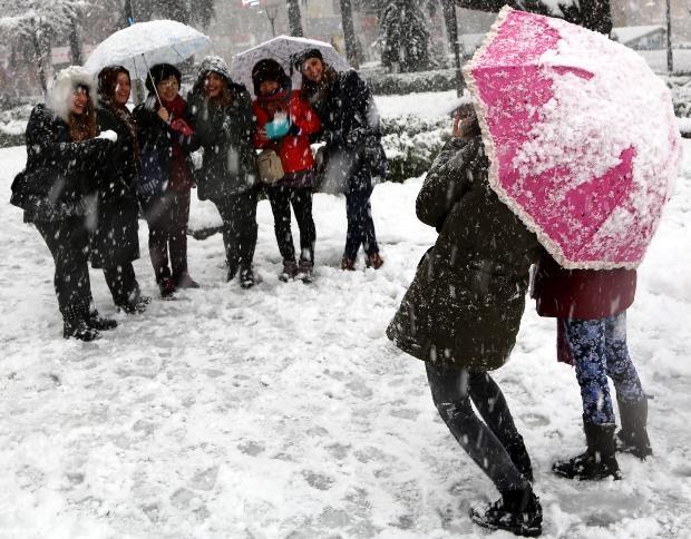 Türkiye'den kar manzaraları 1