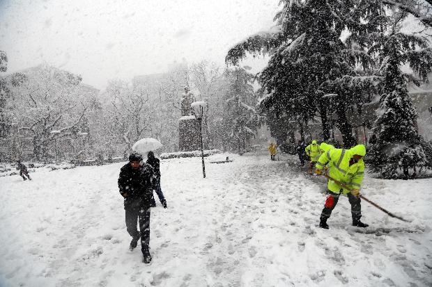 Türkiye'den kar manzaraları 10