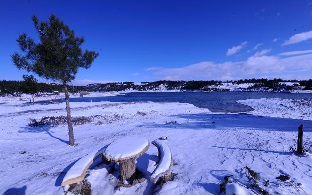 Türkiye'den kar manzaraları 14